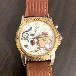 Vintage Armitron Tazmanian Devil Watch
